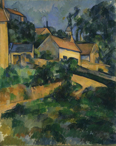 Paul Cézanne - Turning Road at Montgeroult