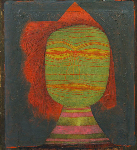 Paul Klee - Actor's Mask