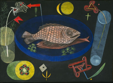 Paul Klee - Around the Fish