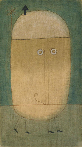 Paul Klee - Mask of Fear