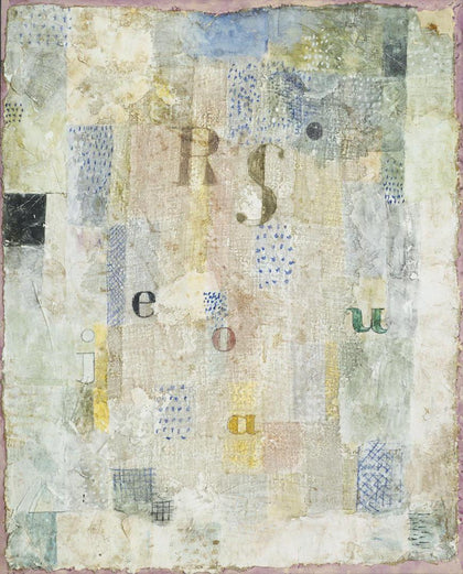 Paul Klee - Vocal Fabric of the Singer Rosa Silber