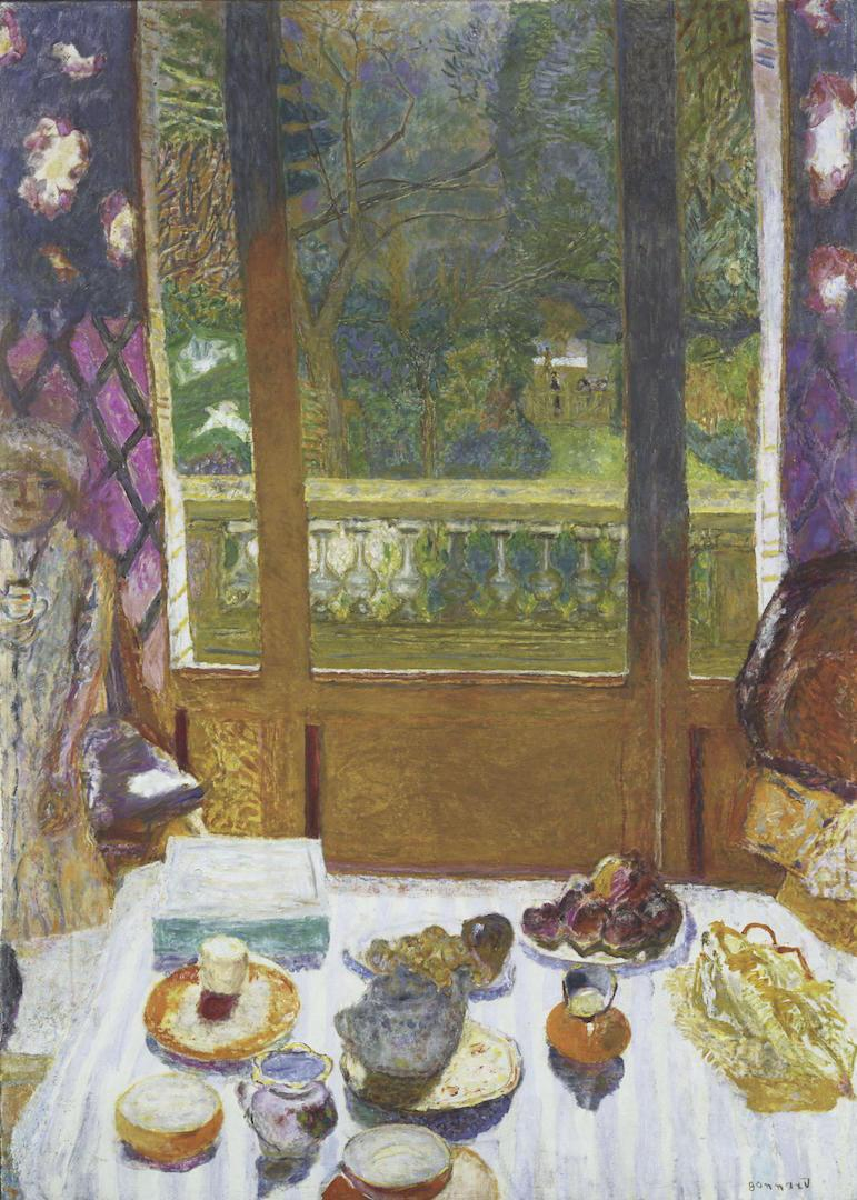 Pierre Bonnard - Dining Room Overlooking the Garden