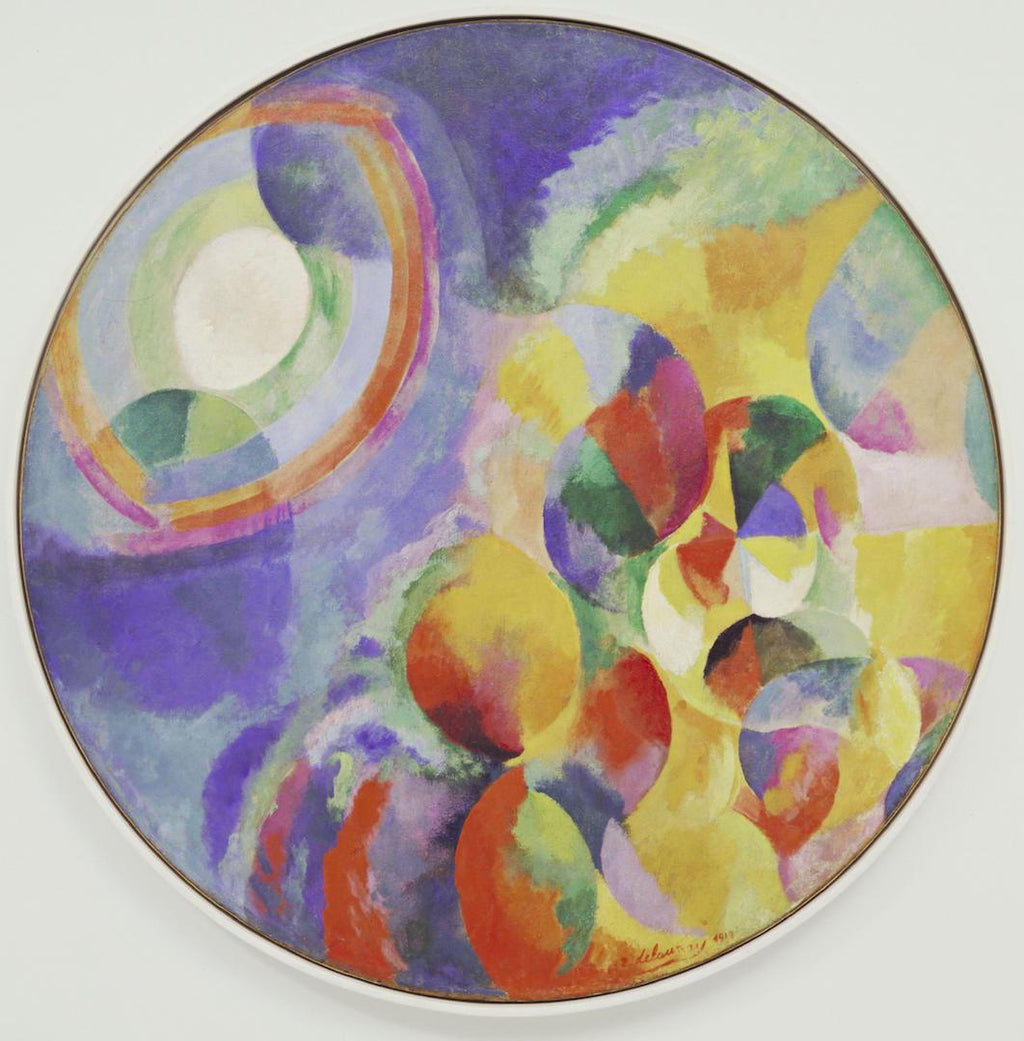 Robert Delaunay - Simultaneous Contrasts Sun and Moon