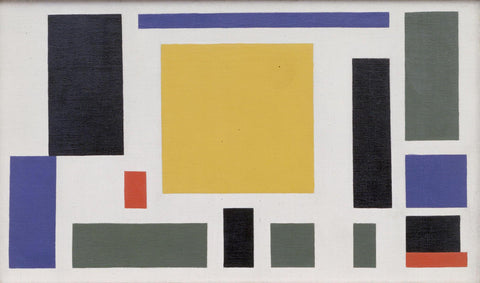 Theo van Doesburg - Composition VIII