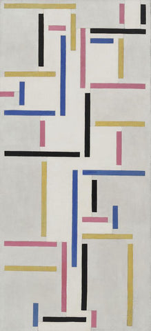 Theo van Doesburg - Rhythm of a Russian Dance