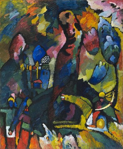 Vasily Kandinsky - Picture with an Archer