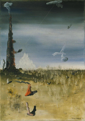 Yves Tanguy - Extinction of Useless Lights