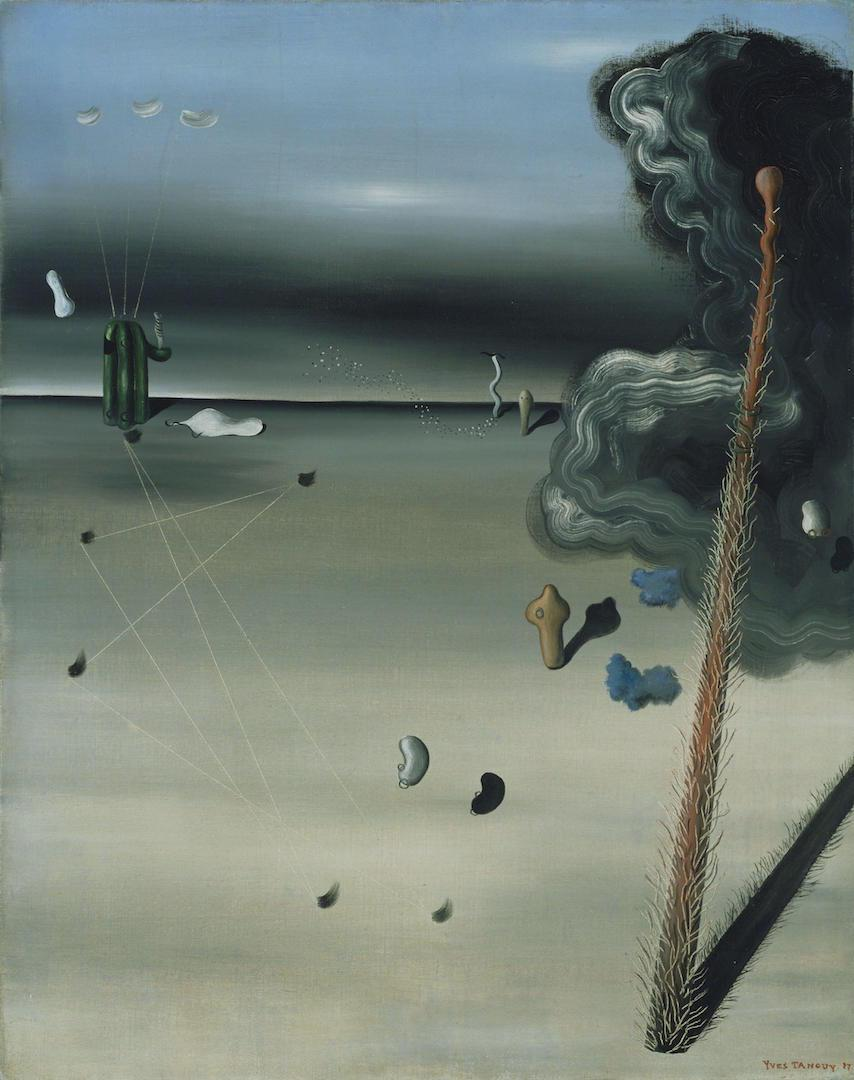 Yves Tanguy - Mama, Papa Is Wounded!