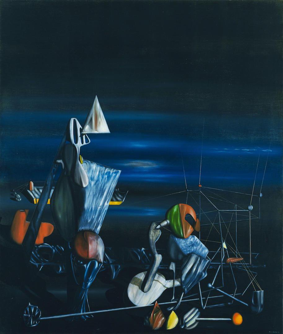 Yves Tanguy - Slowly Toward the North