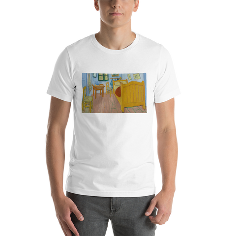 Bedroom-In-Arles-Cotton-Art-Tee-For-Men