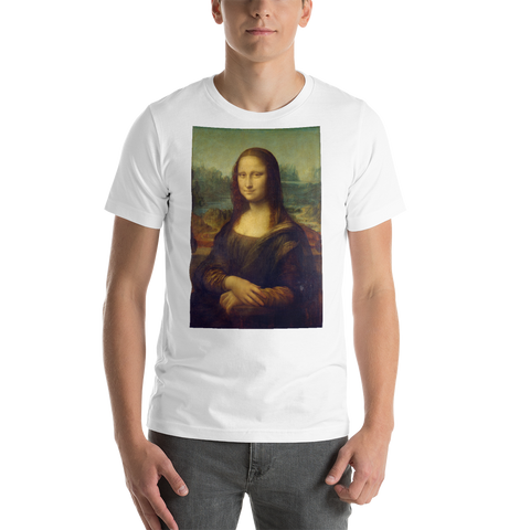 Monalisa-Cotton-Art-Tee-For-Men