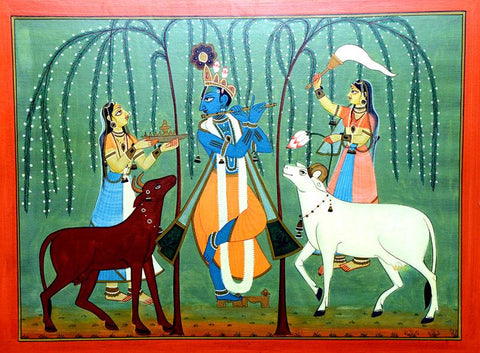 Local Tribal Artist-Traditional Art-Miniature Painting-5