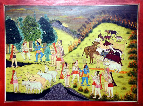 Local Tribal Artist-Traditional Art-Miniature Painting-3
