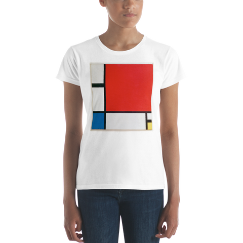Composition-II-Cotton-Art-Tee-For-Women