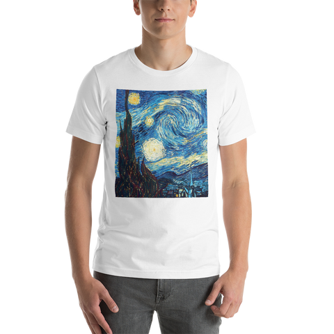 The-Starry-Night-Cotton-Art-Tee-For-Men