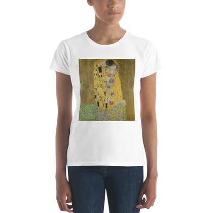 The-Kiss-Cotton-Art-Tee-For-Women