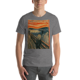 The-Scream-Cotton-Art-Tee-For-Men