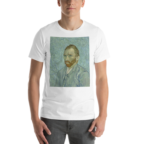 Van-Gogh-Self-Portrait-Cotton-Art-Tee-For-Men