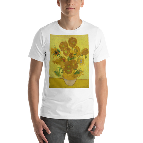 Sunflowers-Cotton-Art-Tee-For-Men