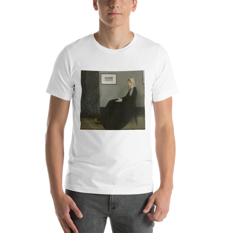 Whistler's-Mother-Cotton-Art-Tee-For-Men