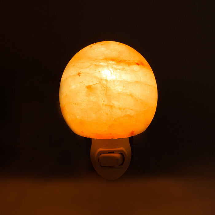 Himalayan Salt Night Light Natural Crystal Lamp - Lovelynlavish