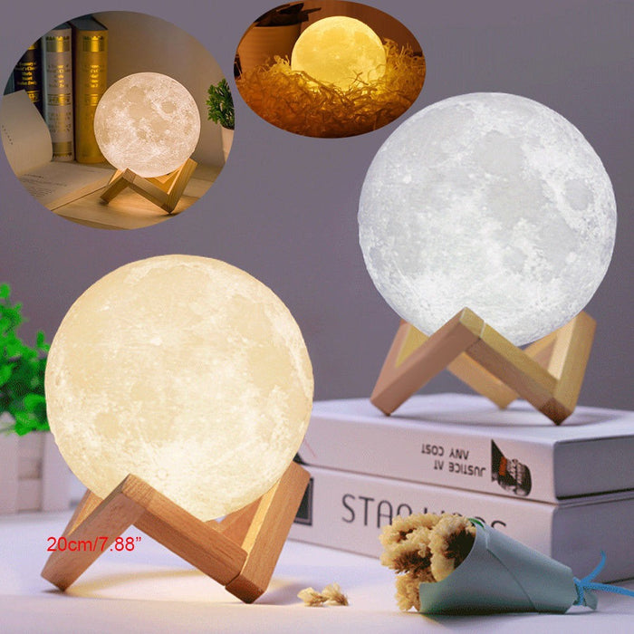 Magical Moon Night Light Table Desk Moon Lamp - Lovelynlavish