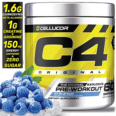 Cellucor C4 Original 30 Serv Blue Raz