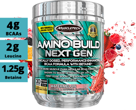 Muscle Tech Amino Build Watermelon 30 Serving