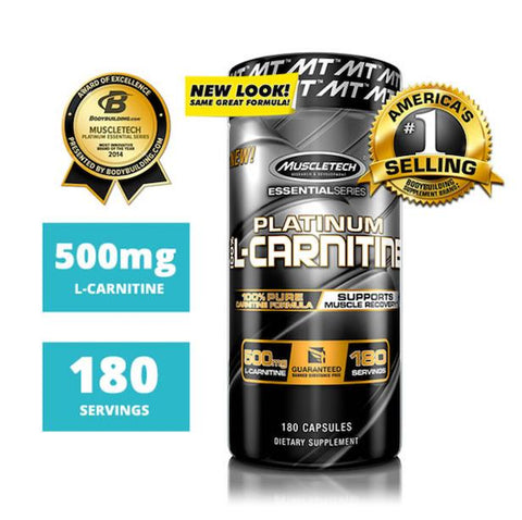 Muscle Tech L Carnitine 180 caps