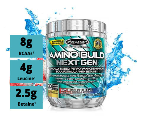 Muscle Tech Amino Build Icey Rocket 30 Serving