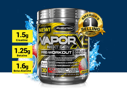 Muscle Tech Vapor X5 - Candy Watermelon