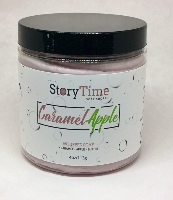 Caramel Apple Whipped Facial Soap