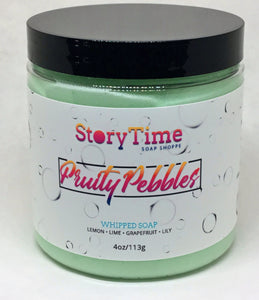 Fruity Pebbles Whipped Facial Soap