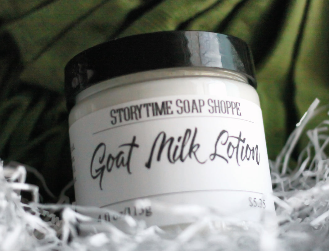Goat Milk Lotion Unscented