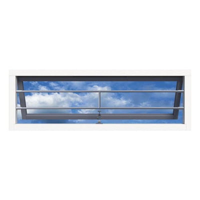 SecuBar Barrierestang H-Bar, Set, RVS, Op de dag, 1490x181 mm