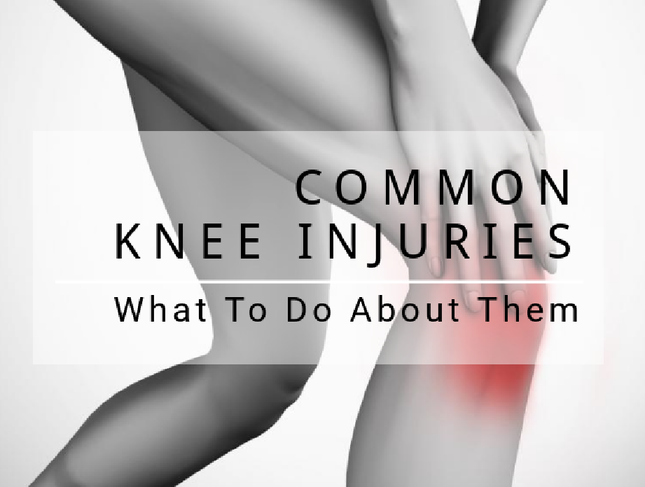 COMMON KNEE INJURIES What To Do About Them