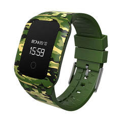 Military Styled Outdoor Waterproof Bluetooth Smart Pedometer