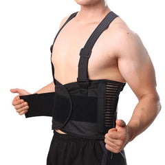Breathable Posture Corrector - Lumbar Support Belt