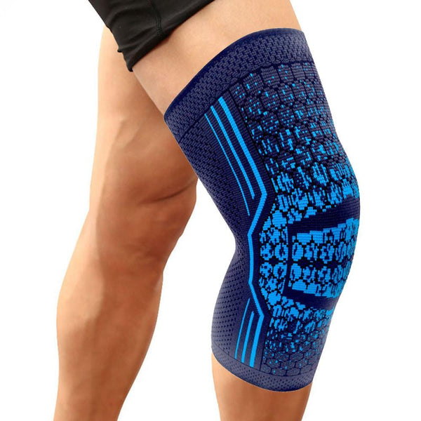 2 Bright Blue Knee Sleeves