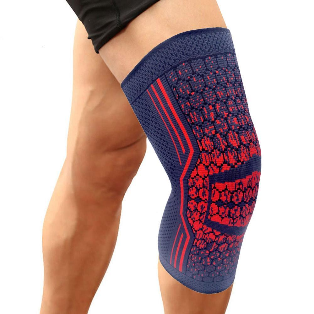 2 Knee Supports for Hiking, Soccer, Running, Tennis, Volleyball or to Prevent Arthritis