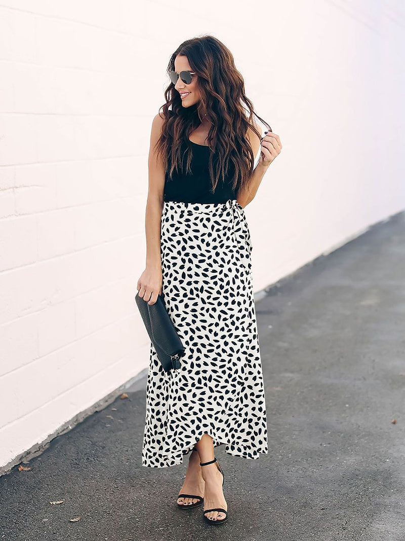 Vacation Floral Printed Skirt