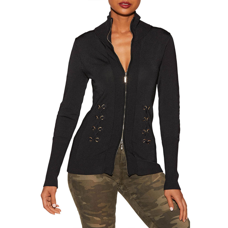 Ladies Casual with Zip Light Jacket