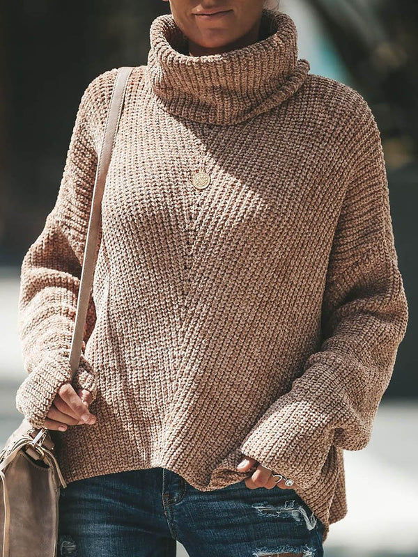 Carmelita Cowl Neck Sweater - Landing Closet