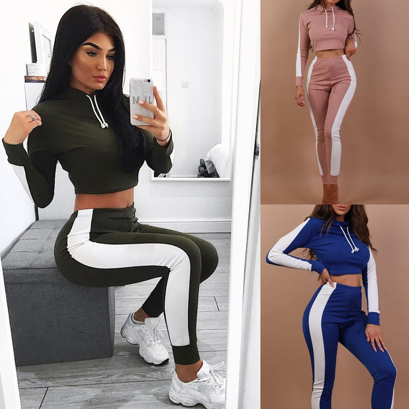 Women's Casual 2 Pieces Outfits Sweatshirt