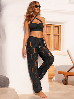 Summer Sexy Lace Beach Pant