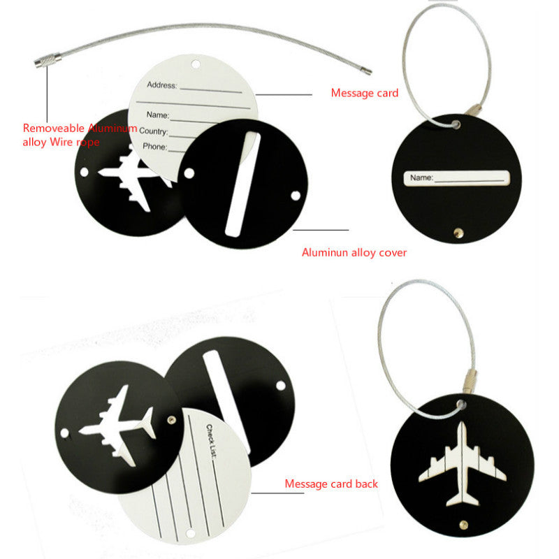 Tag Identification bagage avion
