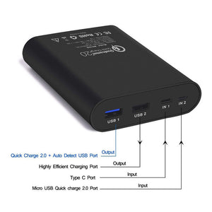 Batterie externe power bank 10000mah - Road and Wild