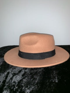 Keli Tan Retro Style Wide Brim Panama Hat