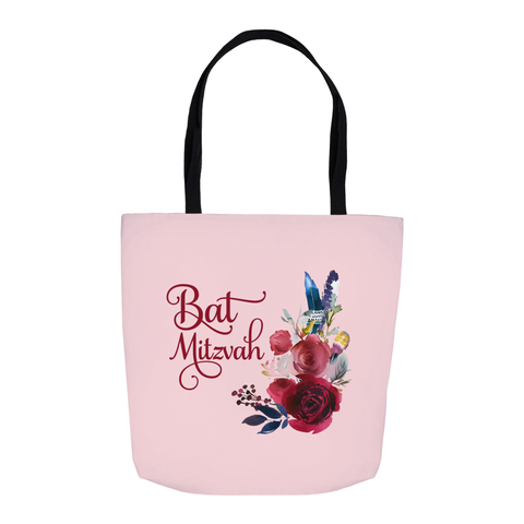 bat mitzvah gift tote bag