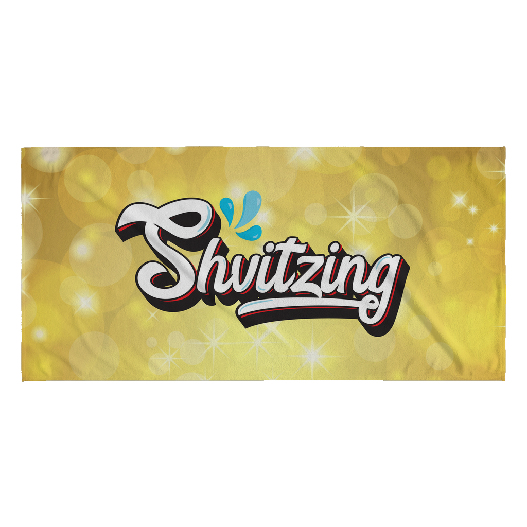 shvitzing glow beach pool towel